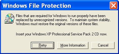 រូបទី៤ (Windows File Protection)